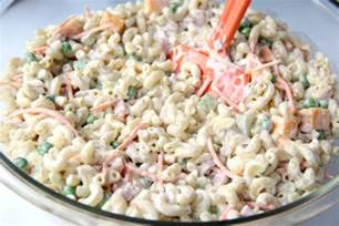 pasta salad recipes with mayo noodle salad with mayonnaise recipe