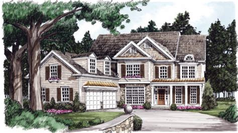 Summerlyn Cottages by Cotswold Home Plans And House Plans By Frank Betz Associates