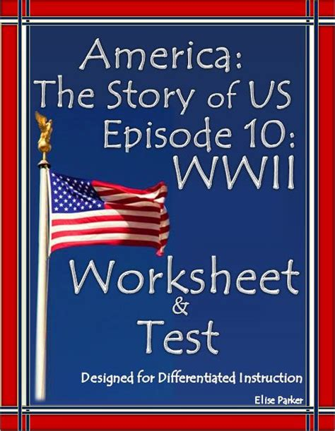 America The Story Of Us Episode 7 Worksheet by Differentiation Pearl Harbor And Choice On