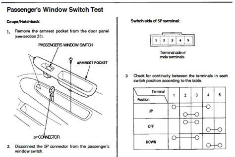 96 honda civic window problems honda tech honda forum
