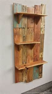 decorative pallet wall shelves pallet wood projects