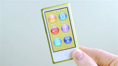 ipod nano  generation review youtube