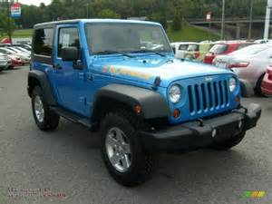 Jeep Wrangler Islander For Sale 2010 Jeep Wrangler Sport Islander Edition 4x4 In Surf Blue