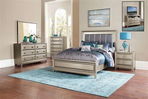 homelegance hedy bedroom set silver  bedroom set homelegancefurnitureonlinecom