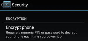 should i encrypt my android phone how do i securely erase my phone before i sell it