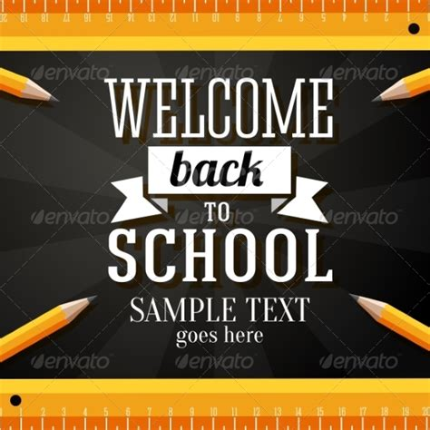 back to school card template welcome back to school greeting card jquery re