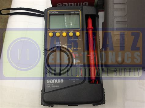 Multitester Sanwa Cd800 sanwa digital multi meter cd 800a multi tester cd800