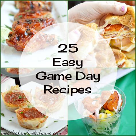 easy day recipes 25 easy day recipes meatloaf and melodrama