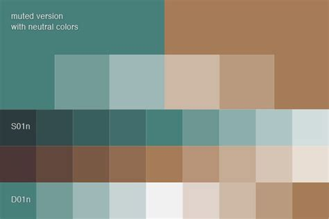 complementary color to brown this means that all of the selected colors are similar in