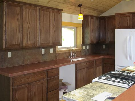 restaining kitchen cabinets a darker color roselawnlutheran staining oak cabinets dark walnut home everydayentropy com