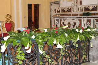 arte floreale  la liturgia  mag
