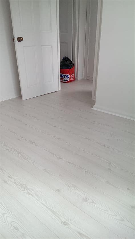laura ashley arktis pine laminate flooring installed in