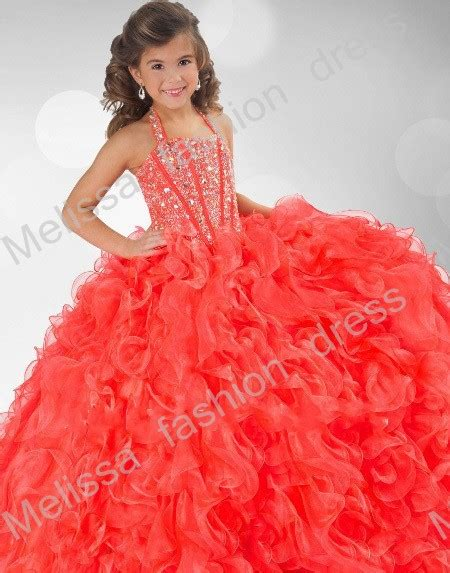 fashion for 11 year olds 2013 halter 2015 design shiny style ball gown sequin beaded