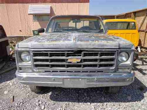 rust free pickup beds buy used 4x4 short bed 1979 chevy gmc rust free pick up truck rat rod in pahrump
