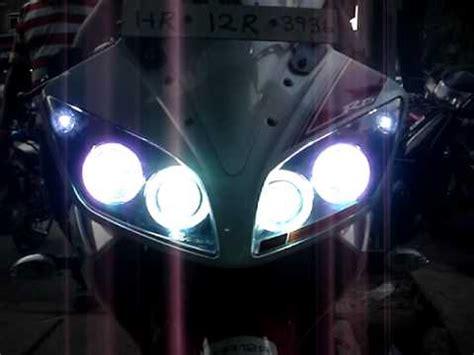 Lu Projector Yamaha R15 multi color dual projector headlight yamaha r15