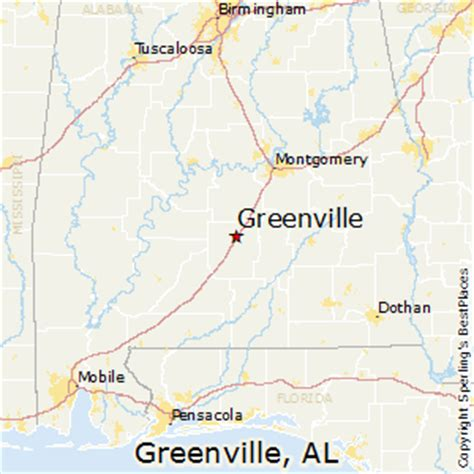 where is greenville alabama on the map best places to live in greenville alabama