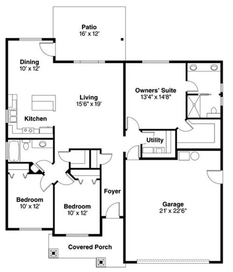 craftsman plan 1 946 square feet 3 bedrooms 2 bathrooms 009 00072 craftsman style house plan 3 beds 2 baths 1507 sq ft