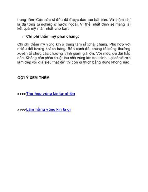 Motivationsschreiben Bewerbung Ngo phau thuat thu nho vung kin sau sinh