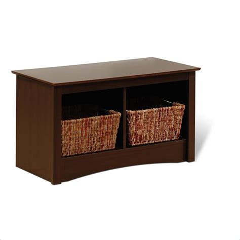 small storage bench with baskets small bench with storage for entryway storage and stylish furniture into one homesfeed