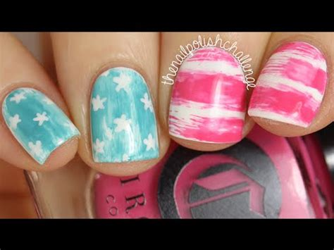 super easy nail art youtube super easy american flag nail art the nail polish