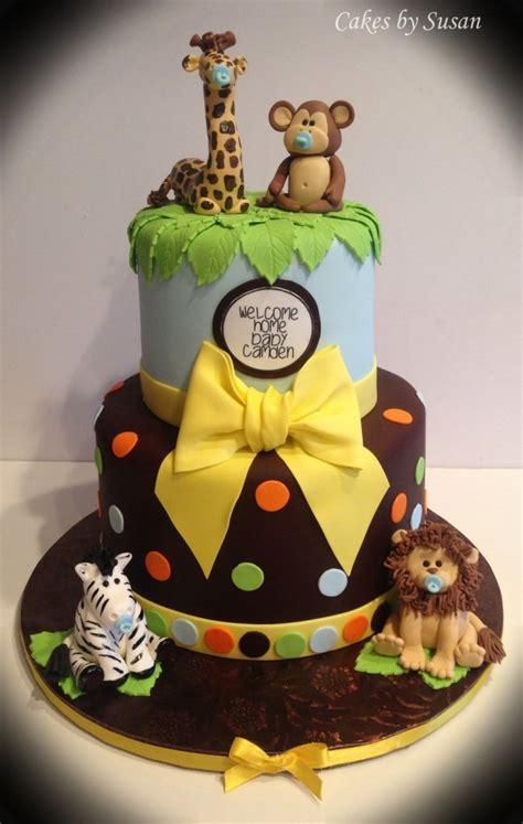 jungle theme baby shower cake safari baby shower ideas baby ideas