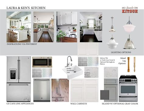 Kitchen Design Boards Ken S New House Stately Kitsch