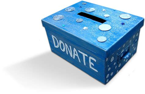 How To Make A Donation Box Out Of Paper - ste hospital fund