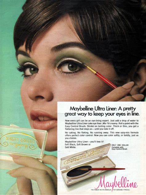 Maybelline Ultra Liner maybelline ultra liner 1969 maybelline maybelline and artists