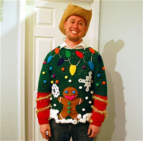 crochet pattern ugly christmas sweater free crochet patterns free crochet pattern for ugliest