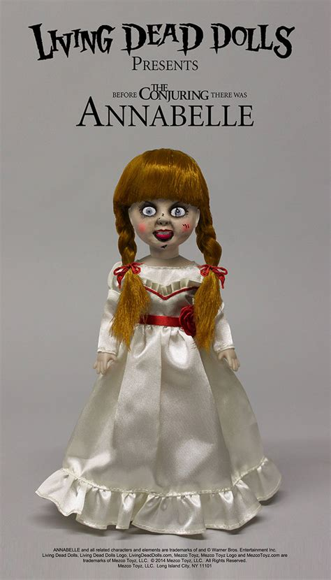 annabelle doll actual living dead dolls doll annabelle 25 cm animegami store