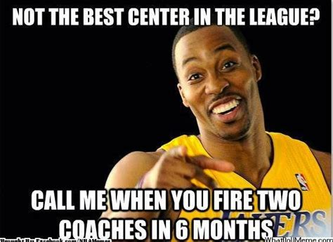 Funny Lakers Memes - pin dwight howard memes nba official website of bballone