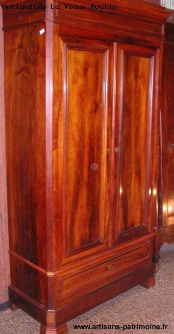 armoire louis philippe noyer armoire louis philippe en noyer massif artisans du