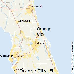city florida map best places to live in orange city florida