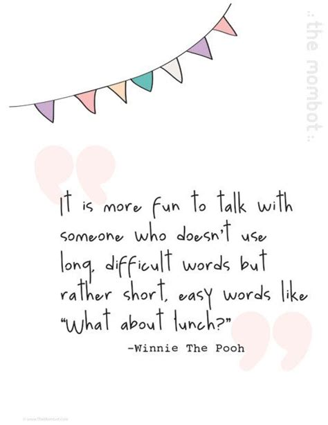 printable lunch quotes it is more fun to talk with someone who doesn t use long