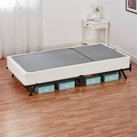 box spring for twin bed mainstays half fold metal box spring twin full queen size