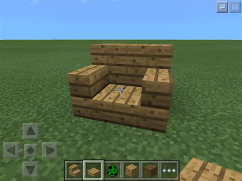 How To Make Minecraft Chairs by Realistic Chair Minecraft Furniture
