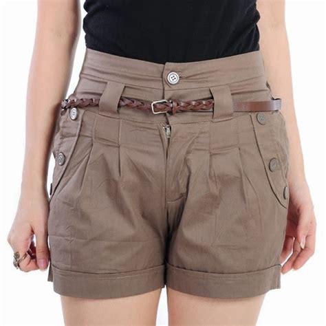 Celana Untuk Tubuh Pendek 10 model terkini celana pendek untuk perempuan edisi 2018 cinuy