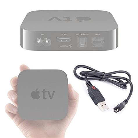 apple tv 3 usb micro usb data sync lead for apple tv 2nd and 3rd
