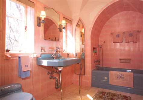 colorful house bathrooms house