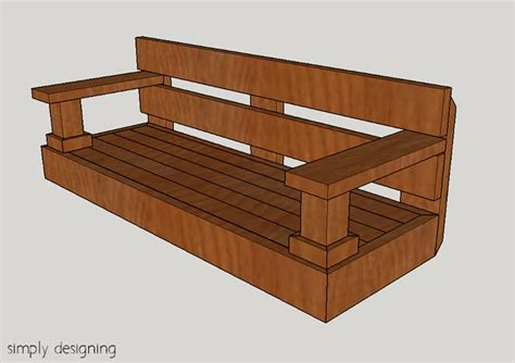 plans to build a porch swing build a porch swing