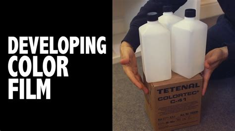 how to develop color tetenal colortec c 41