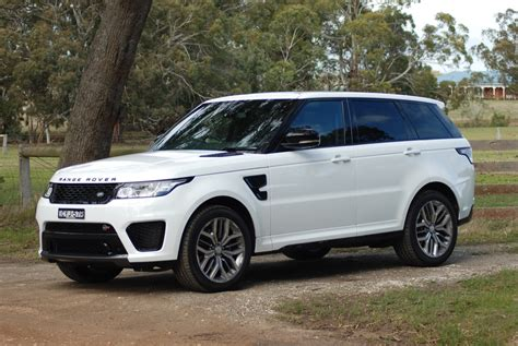 land rover sport price review 2015 range rover sport svr review road test