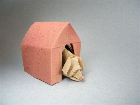 origami dog house 22 excellent origami models for dog lovers