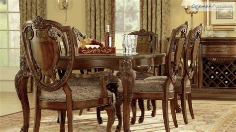 buy old world dining set by art from www mmfurniture com old world leg dining room collection from art furniture