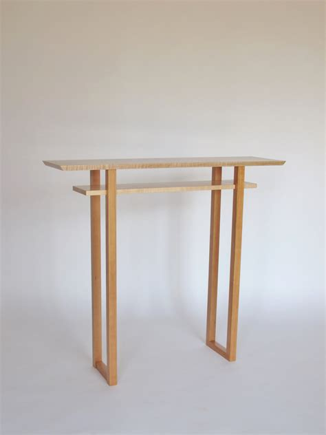 Thin Hallway Table Narrow Wood Foyer Table Narrow Table Side