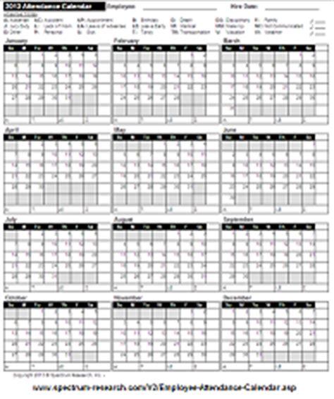 Work Attendance Calendar For 2015 New Calendar Template Site 2015 Employee Attendance Calendar Free Printable Attendance Calendar 2016 2016 Calendar