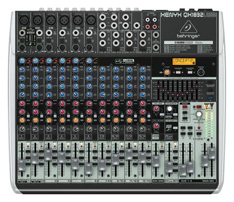 Mixer Behringer 10 Channel behringer qx1832usb 10 channel mixer