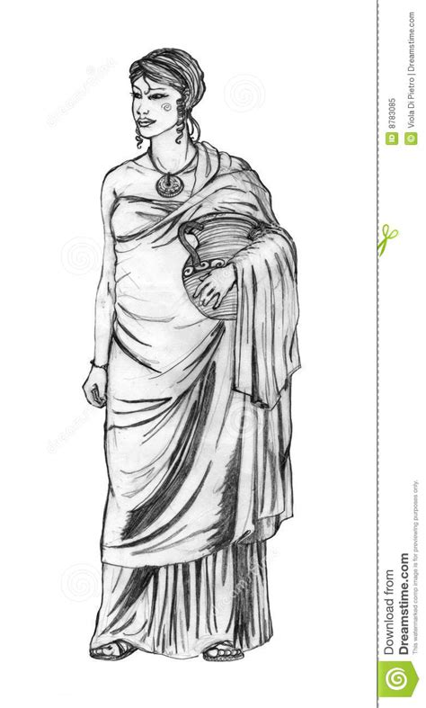 Ancient Roman Costume Royalty Free Stock Photo - Image