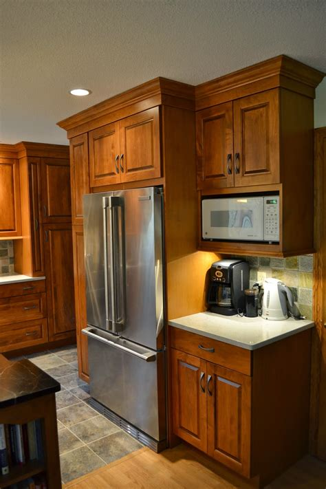 microwave refrigerator cabinet for room kitchen bathroom remodeling tips you will