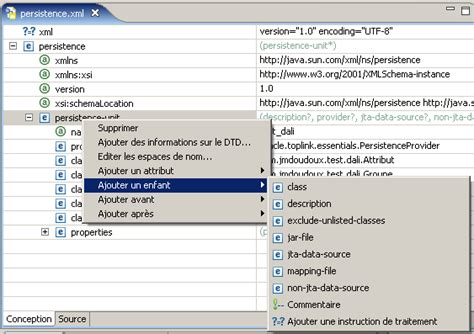Modification De Fichier Xml by Jpa Et Eclipse